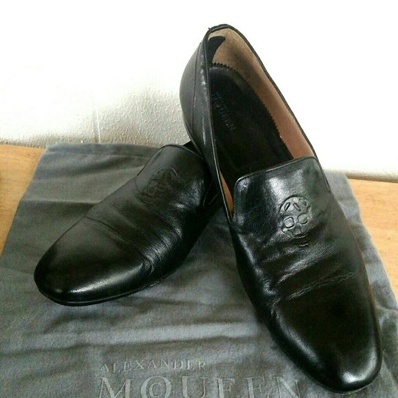Alexander McQueen Other - Alexander McQueen Embossed Skull Loafers, Slippers